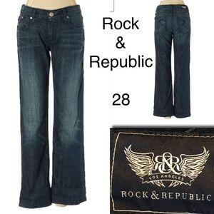 Rock & Republic Los Angeles Jeans size 28